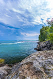 Scarborough Bluffs Park. Toronto. Scarborough Bluffs Lake view in Toronto, Canada Stock Photography