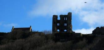 Scarborough Castle. Stock Photos