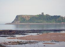 Scarborough Castle view Stock Photography