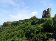 Scarborough Castle view Stock Photo
