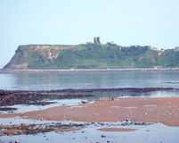 Scarborough Castle view Stock Images