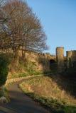Scarborough Castle stock image