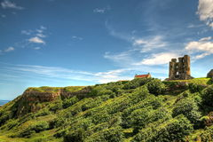 Scarborough Castle in Yorkshire, UK. Royalty Free Stock Photo