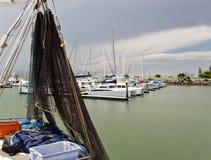 Scarborough Fishing Boat Royalty Free Stock Image