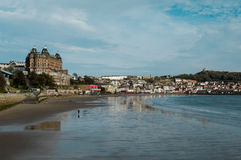 Scarborough Grand Hotel over South Bay Stock Photo