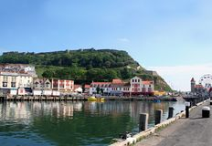 Scarborough harbor Royalty Free Stock Photography