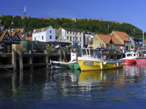 Scarborough Harbour Stock Photo