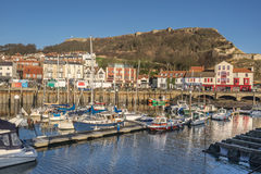 Scarborough harbour Royalty Free Stock Images
