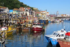 Scarborough Harbour Royalty Free Stock Photo