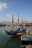 Scarborough Harbour Scenic Royalty Free Stock Photos