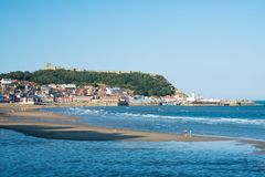 Scarborough harbour UK royalty free stock images