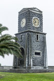 Scarborough klockatorn royaltyfri bild