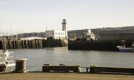 Scarborough-Leuchtturm lizenzfreies stockbild