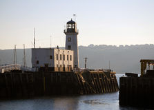 Scarborough lighthouse Stock Image