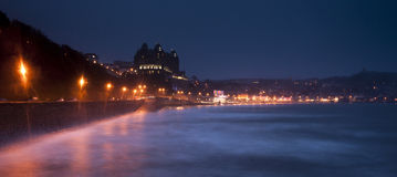 Scarborough At Night Stock Image