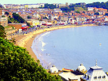 Scarborough North Yorkshire. Arkivbilder