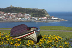 Scarborough - North Yorkshire - England Royaltyfri Bild