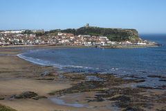 Scarborough - North Yorkshire - England Arkivfoto