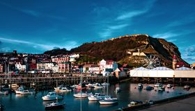 Scarborough, North Yorkshire royalty free stock photography