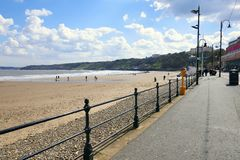 SCARBOROUGH, NORTH YORKSHIRE, R-U Photos stock