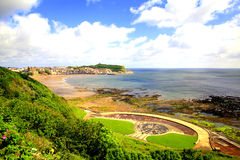 Scarborough North Yorkshire, UK. Royaltyfria Bilder