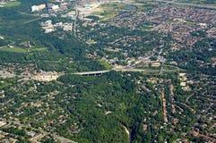 Scarborough Ontario, aéreo Fotos de archivo libres de regalías