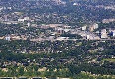 Scarborough Ontario, aéreo Foto de archivo