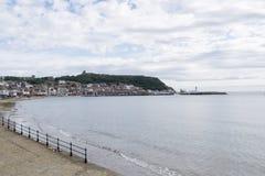 Scarborough, południe zatoka, North Yorkshire, Anglia, Zjednoczone Królestwo zdjęcie royalty free