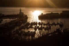 Scarborough's Harbour Stock Photography