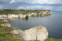 Scarborough seascape i krajobraz Obraz Royalty Free