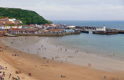 Scarborough seaside resort Stock Image