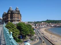 Scarborough South Bay UK Stock Image