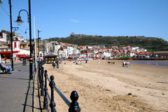 Scarborough South beach. Royalty Free Stock Images