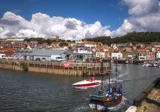 Scarborough.UK. View for Scarborough port. United kingdom Stock Images