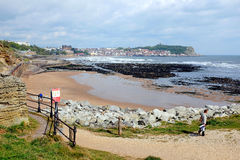 Scarborough Yorkshire Royaltyfri Fotografi