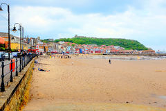 Scarborough Yorkshire Arkivfoto