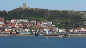 Scarborough - Yorkshire - Engeland stock footage