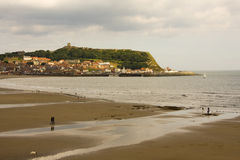 Scarborough, Yorkshire, Engeland Royalty-vrije Stock Foto