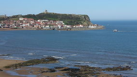 Scarborough - Yorkshire - England stock video footage