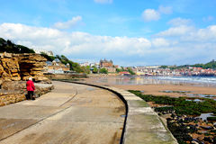 Scarborough, Yorkshire. Stock Image