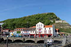 Scarboroughhaven in North Yorkshire Stock Afbeelding