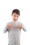 SCARE ASL Sign language communication Stock Image
