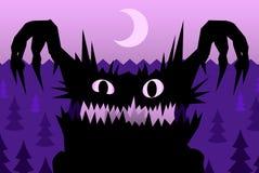 Scare Night Monster Stock Photos