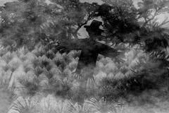 scarecrow royaltyfria foton