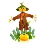 Scarecrow. Royalty Free Stock Images