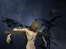 Scarecrow? Fotografering för Bildbyråer