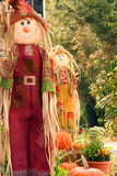 Scarecrow. Smiling scarecrow decoration for fall festival Royalty Free Stock Image