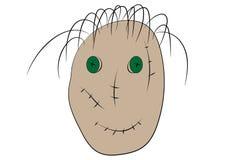 scarecrow royaltyfri illustrationer