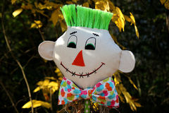 Scarecrow Broom Royalty Free Stock Images