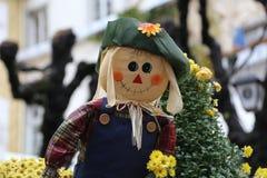 Scarecrow. / Close portrait view of stock illustration
